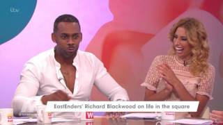 Richard Blackwood On Joining EastEnders | Loose Women