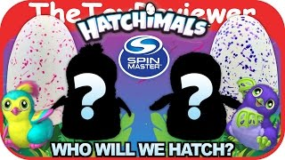Hatchimals Eggs Penguala & Draggle Hatching Day Spin Master Unboxing Toy Review by TheToyReviewer