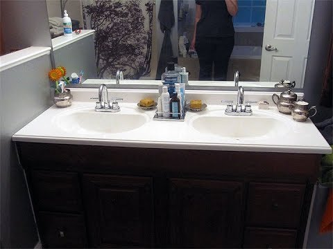 Refinishing Bathroom Vanity & Refinishing Bathroom Vanity - YouTube