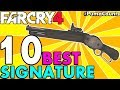 Top 10 Best Signature Guns and Weapons to Carry in Far Cry 4 (And how to get them) #PumaCounts