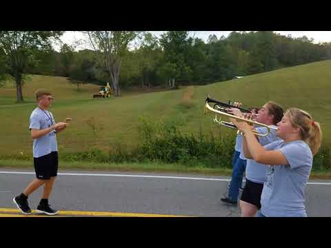 Guyan Valley Middle School Homecoming Parade 2017