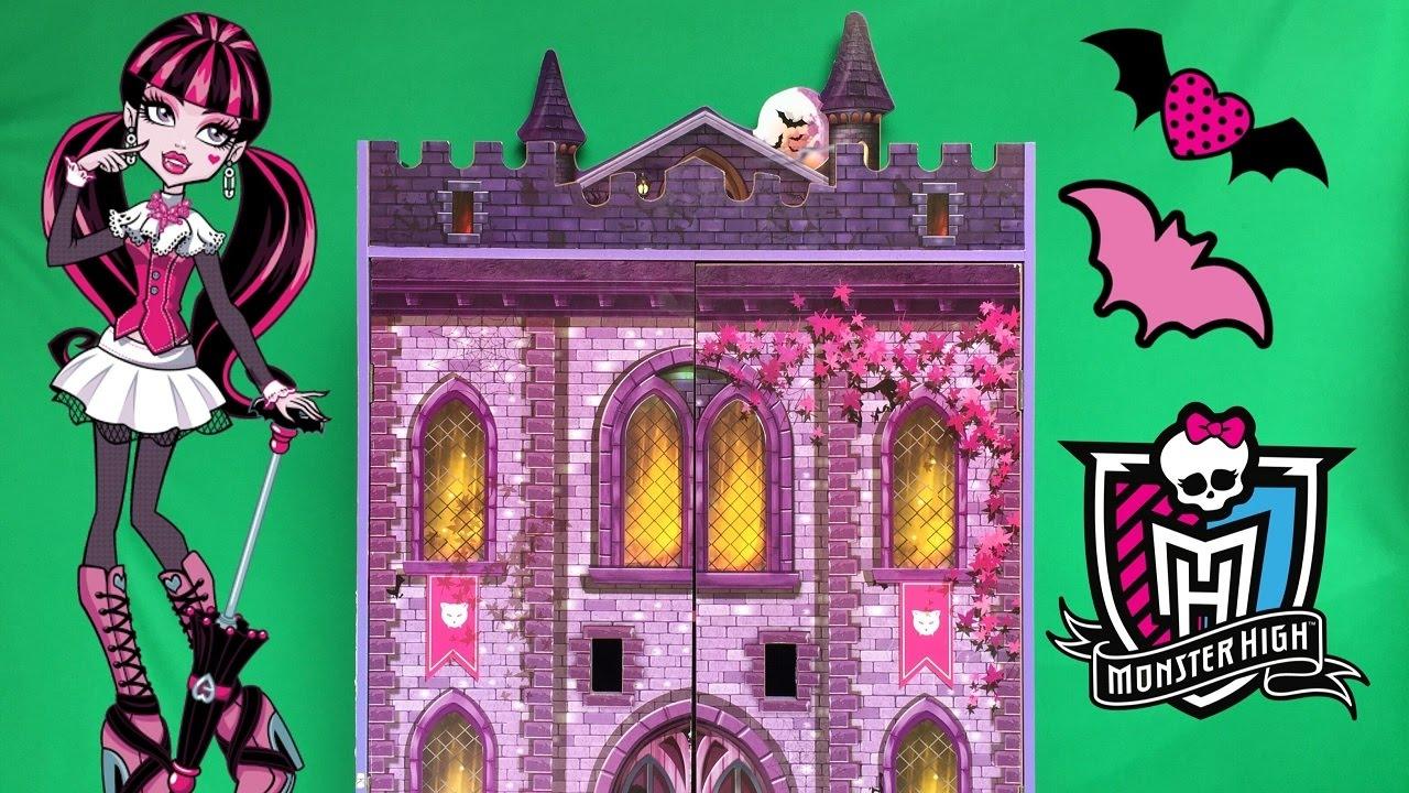 Castelo Da Monster High Casa Da Monster High Youtube