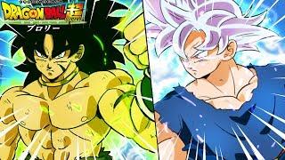 Broly Vs Ultra Instinct Goku In The Dragon Ball Super Movie?