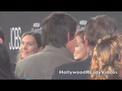 Lukas Haas arrives to the Jobs premiere at LA Live in LA