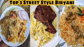 Top 3 Places to have Street Style Biryani in Patna||Patna Street Food||Zaika Patna Ka