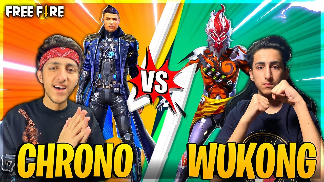 Download Wukong Vs Chrono The End 😡 My Brother Challenge Me For 1 Vs 1 Clash Squad - Garena Free Fire