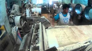 Philippines second stage Polyester-Button Making  using Tullio Giusi blanker machine