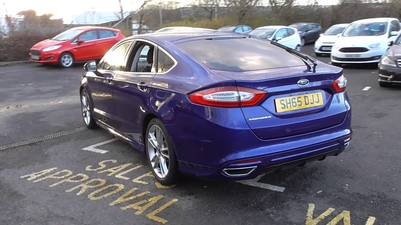 Ford Mondeo 2015 Interior >> Ford MONDEO 2.0 TDCi Titanium [X Pack] 5dr Powershift U22286 - YouTube