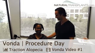Traction Alopecia Regrowth with Dr Kevin Blumenthal (Vonda)
