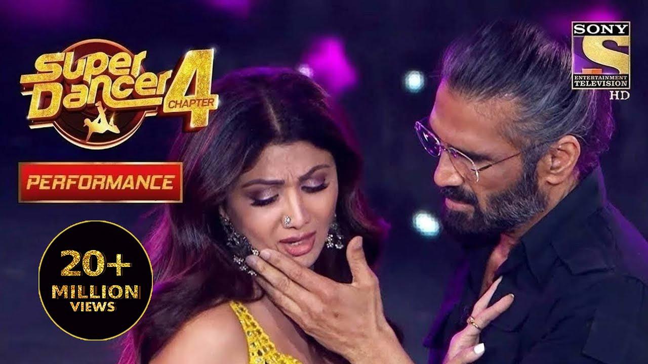 "Download Dev और Anjali साथ साथ फिर Ek बार ""Dil Ne Ye Kaha Hai Dil Se"" पर   Super Dancer 4   सुपर डांसर 4"