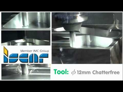Waveform machining with Edgecam, Hurco and Iscar
