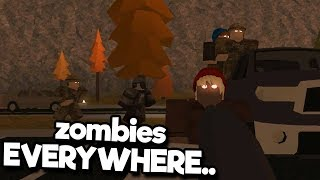 Surviving The Zombie Apocalypse (Roblox Those Who Remain)