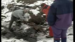 Gletschermumie Ötzi - Fund  in den Ötztaler Alpen und Austellung in Bozen 2001