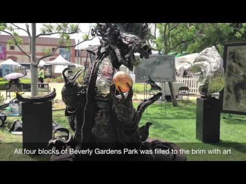 Artists Take Over Beverly Gardens Park in Beverly Hills