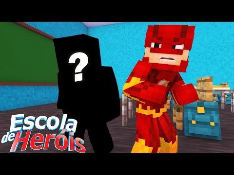 Minecraft: NOVO HERÓI #04 ( ESCOLA DE HERÓIS )