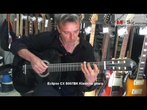 Eclipse CX S007BK Klasicna gitara