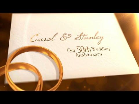DVD Slideshow - Stanley and Carol - 50th Anniversary Slideshow
