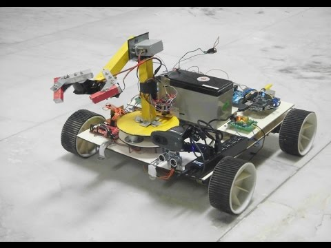 "TIIC IDC 2015-Team 981-""Vision Guided Semi Autonomous Robot with Tele Operable Robotic Manipulator"""