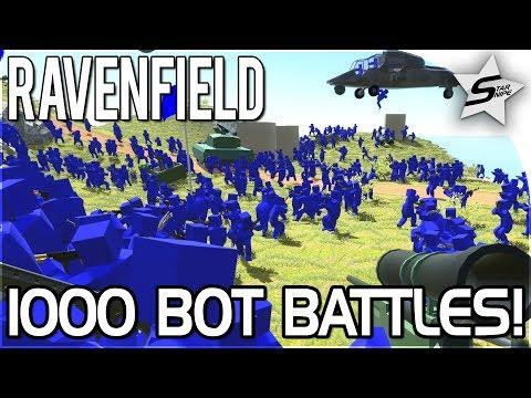 EPIC, CRAZY 1000 BOTS BATTLES! - Ravenfield Gameplay (Beta 6 Update!)