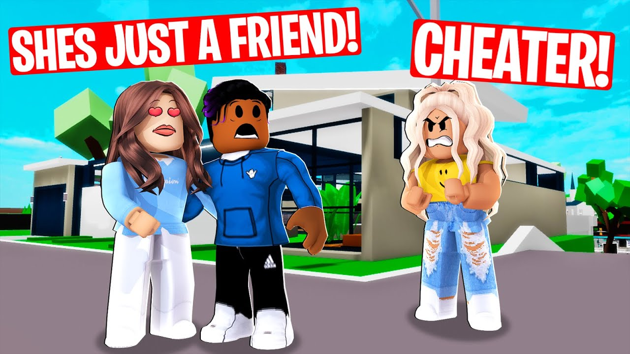 Boy CHEATED on girl he regretted it.....( Roblox Brookhaven)