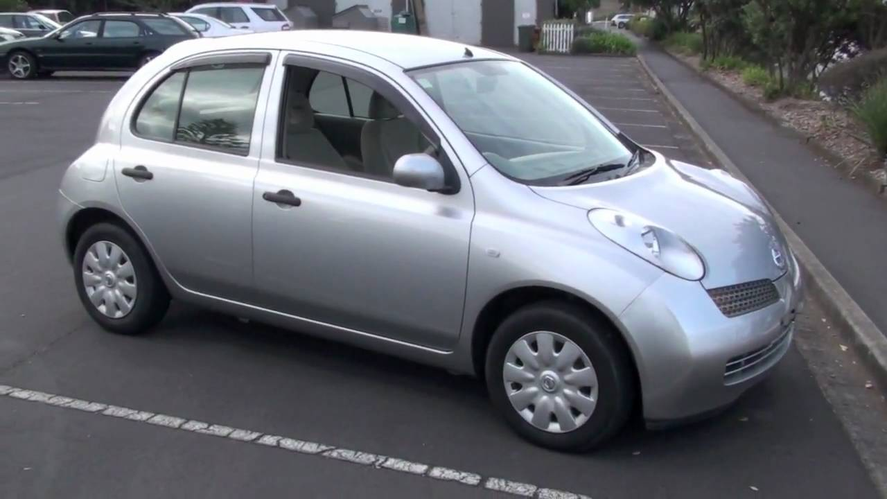 Nissan March 2002 1200cc Auto 56km Youtube