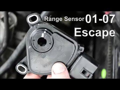 replace 01 07 ford escape range sensor symptoms location youtube replace 01 07 ford escape range sensor symptoms location