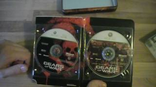 Unboxing Trilogy: Gears of War 1, 2 und 3 (alle Xbox 360)