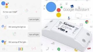 How to connect sonoff smart ewelink to google assistant