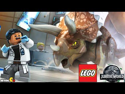 LEGO Jurassic World Walkthrough Multiplayer Mode Part 1 Prologue ...