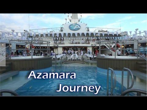 Azamara Journey tour mini cruise Italy - France August 2016