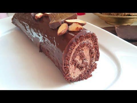 biscuit-roulÉ-au-chocolat-avec-une-crÈme-au-nutella
