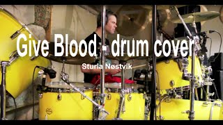 GIVE BLOOD - Pete Townshend - Drum Cover