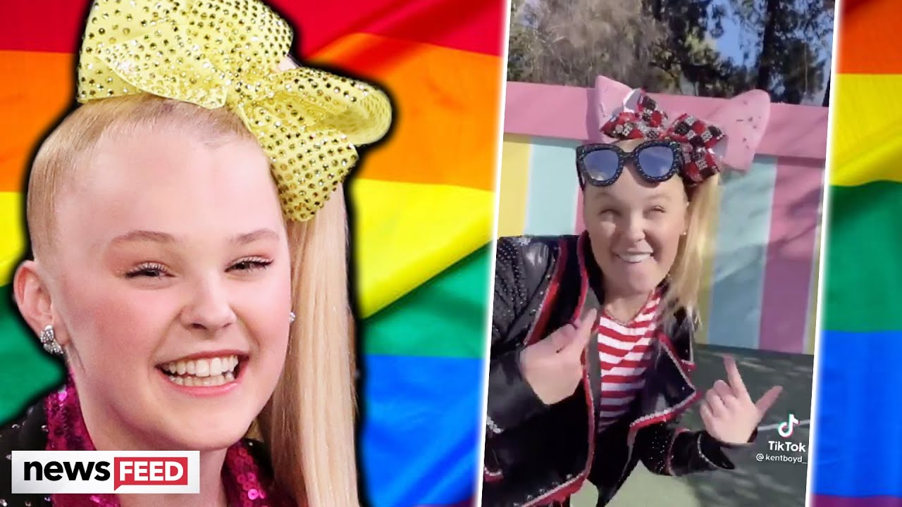 Jojo Siwa Fans Suspect She Came Out On Tiktok Youtube