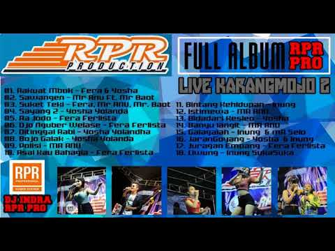 FULL ALBUM RPR Live Karangmojo 2 2017 CC. Indra RPR