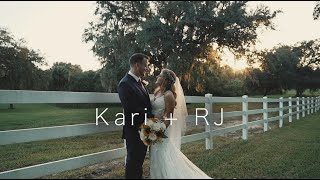 Kari + RJ | Stonebridge Weddings in Dade City, FLorida