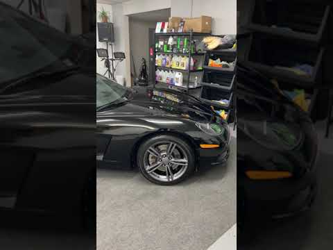 2011 Chevy Corvette Ceramic Coating and Paint Correction