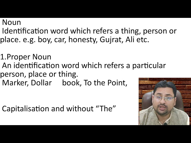 NOUN AND ITS KINDS IN URDU HINDI