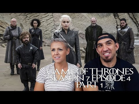 Game of Thrones Season 7 Episode 4 'The Spoils of War' Part 1 REACTION!!