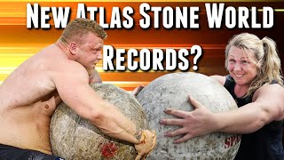 Predictions | Tom Stoltman and Donna Moore to Break Their OWN Atlas Stone World Records