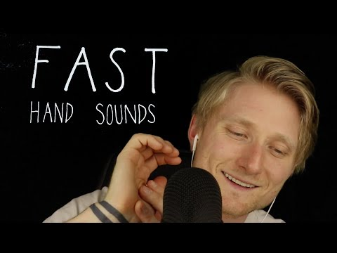ASMR Fast Hand Sounds [No. 3]