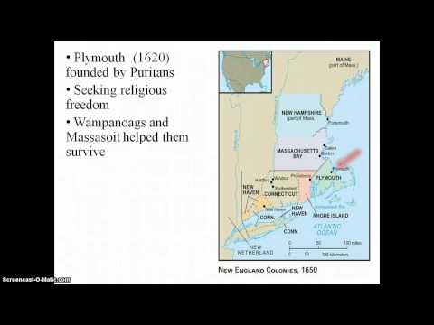 The Formation of the British Colonies in North America