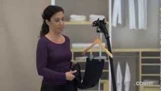How to use your Conair Canada Upright Garment Steamer