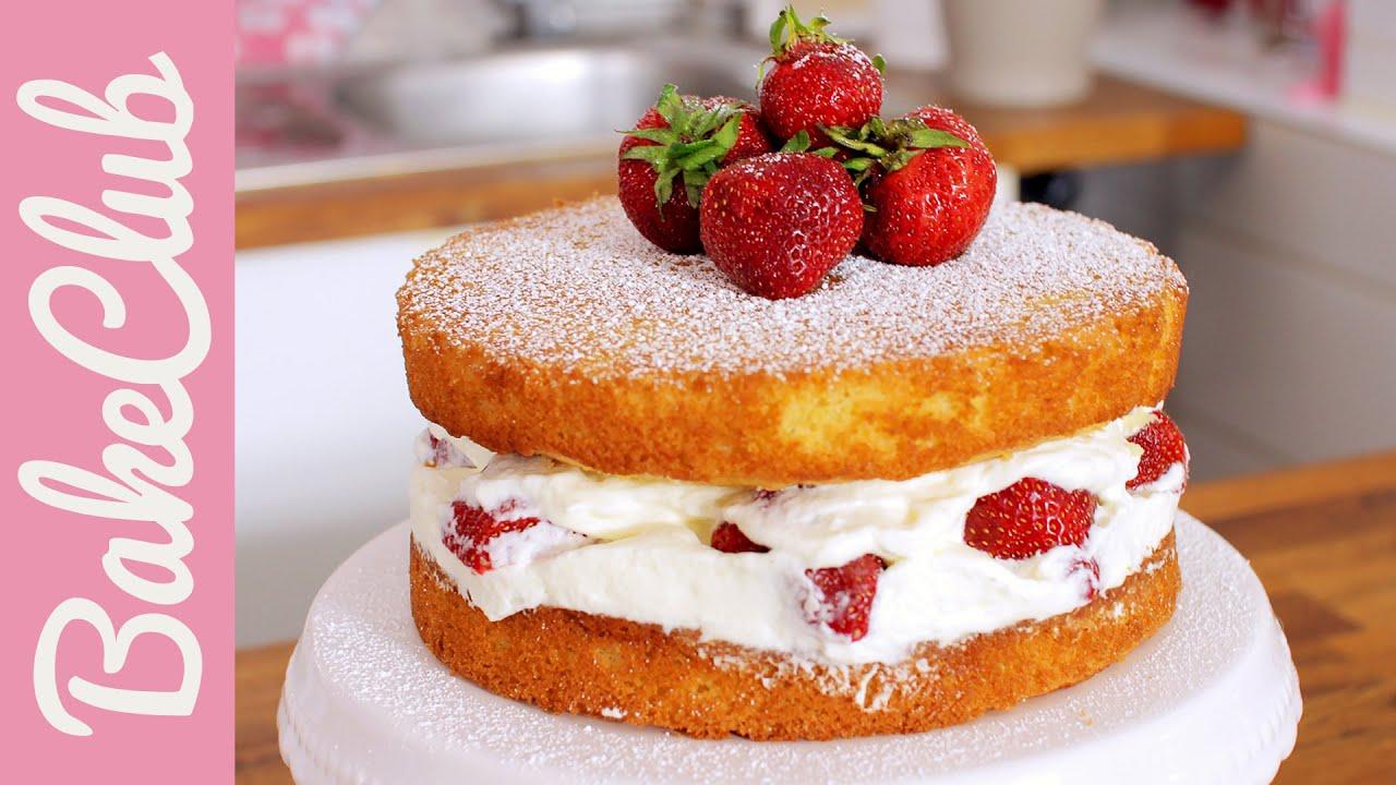 Make Vanilla Sponge Cake