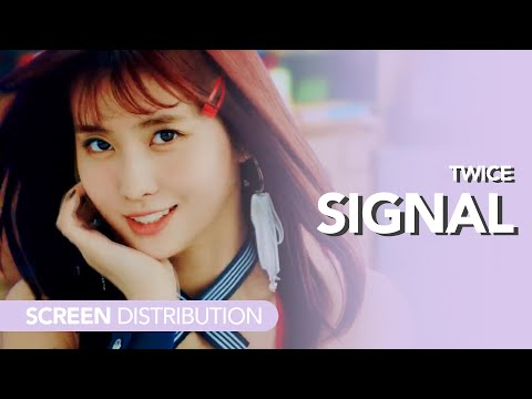 [Solo Screen Time Distribution] Twice - Signal