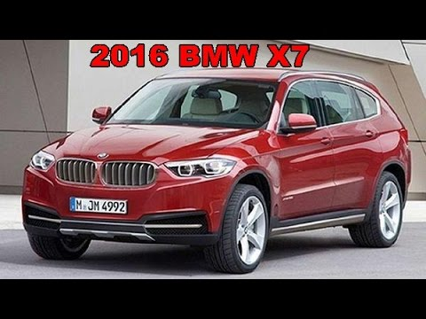 2016 Bmw X7 Exterior And Interior