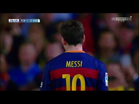 Lionel Messi vs Valencia (HOME) 720p HD (17.04.2016) By IramMessiTV