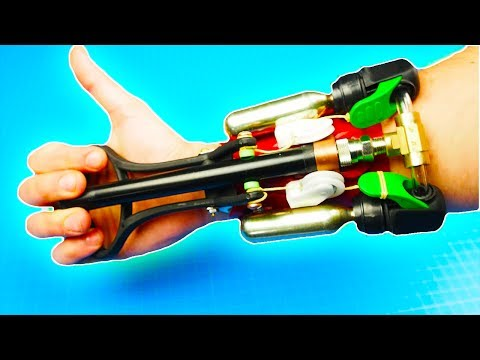 How to Make REAL SPIDER-MAN Web Shooter - Grappling Hook Launcher - Prototype V.3