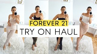FOREVER 21 HAUL & TRY ON - Casual & Dressy Looks