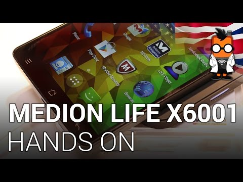 Medion Life X6001 hands-on: a 6-inch phone with a low price