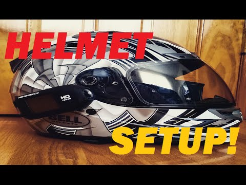 Helmet-MotoVlogging Setup - Budget Bluetooth+Drift Ghost+Transitions Shield Review